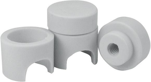 Ceramic terminal covers