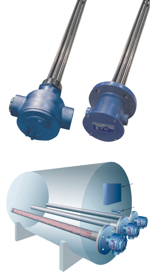 Pipe Insert Immersion Heater